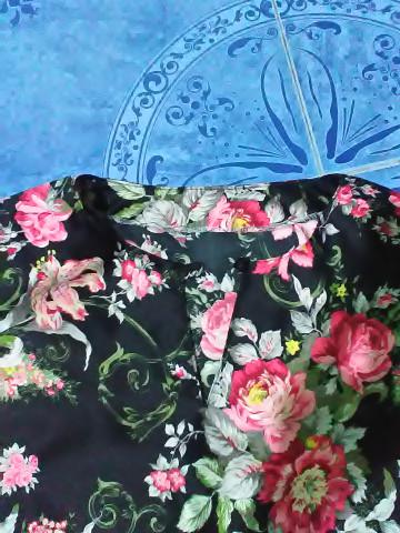 Photo 3 of baju kurung moden TP-578000 baju kurung moden wanita dewasa - bercorak  kain potongan duyung