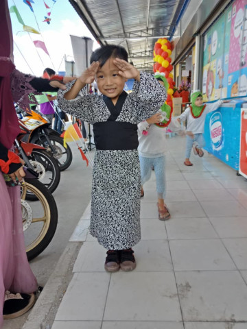 Photo 1 of Kimono kanak-kanak TP-222004 Kain cotton-kanak2 lelaki & perempua n Upah jahit rm30
