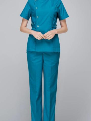 Photo 1 of Baju chef / nurse TP-222005 Baju nurse/chef dewasa-plain sepasang Upah jahit rm100