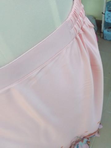 TP-222007 Baju kurung pesak gantung + tangan bergetah + kain susun tepi