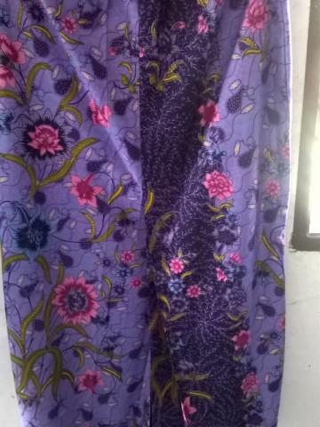 Photo 1 of Kain Kipas Depan TP-578003 Menggunakan Kain batik  Kain lipatan kipas di bahagian hadapan kain Bergetah di bahagian pinggang
