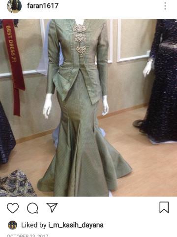 Photo 1 of Customer give the label TP-658001 Baju kurung model with lining or without lining baju kabaya dress shirt cout pants baju kurung Pahang