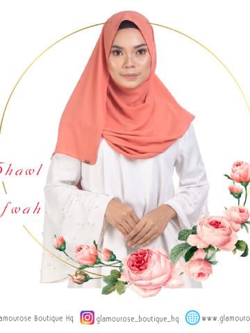 Photo 2 of Shawl TP-665001 Menjahit Shawl, Bawal, Baju kurung, Jubah,