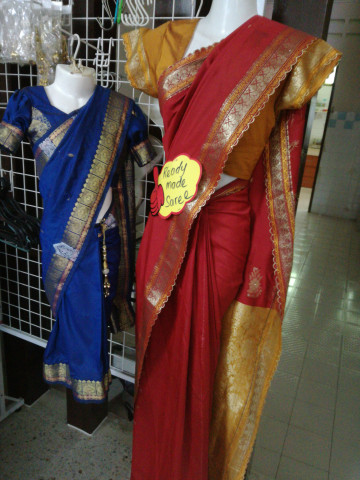 Photo 1 of Traditional india TP-387001 Ready made saree for mom and  daughter