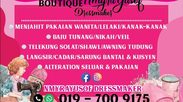 Nmyrayusof Dressmaker Photo 1 of Tailor-569