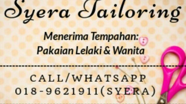 Syera Eyfa Tailor Photo 1 of Tailor-821