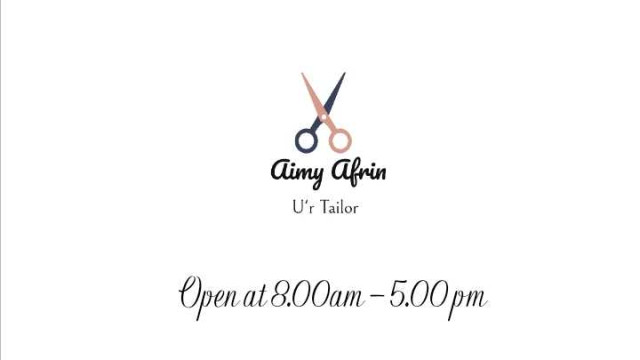 Aimy Afrin Ent Photo 1 of Tailor-879