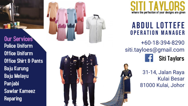 Siti Taylors Photo 1 of Tailor-947