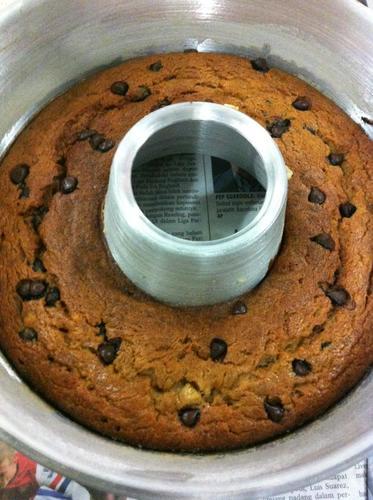 Kek Pisang Coklat Cip Tanpa Telurâ Myresipicom