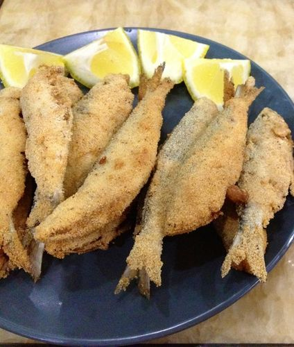 ? Ikan Goreng Tepung Semolina ?