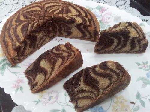 Kek Minyak Tanpa Telur Marble Myresipicom