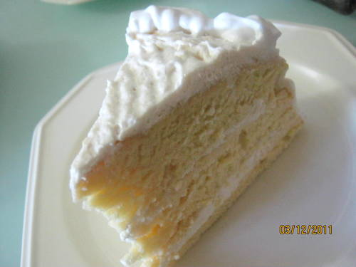 Kek Durian Dgn Fresh Cream Myresipicom