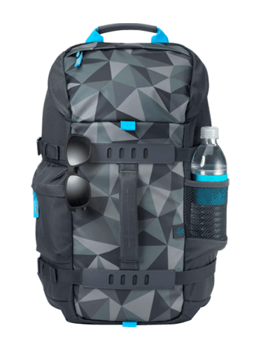 HP 15.6 Odyssey Backpack, Blue Facet