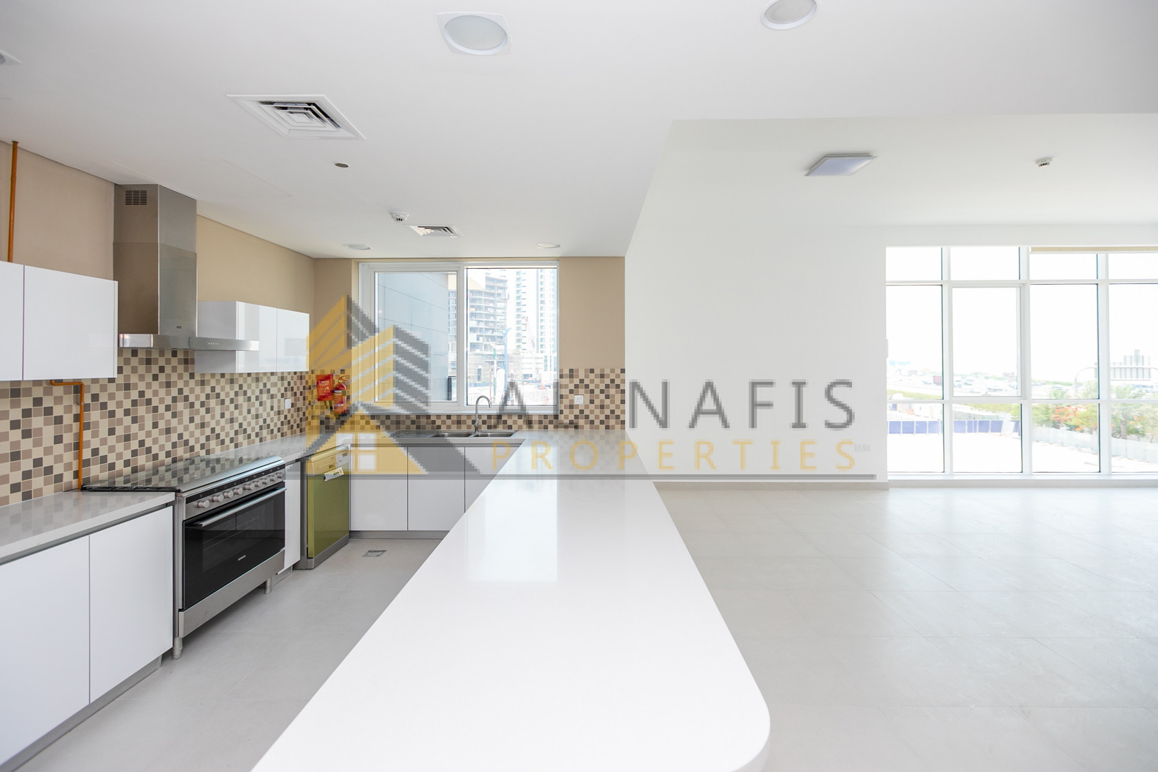 Brand New 3Bedroom w/ Al Khail Pool View for Rent