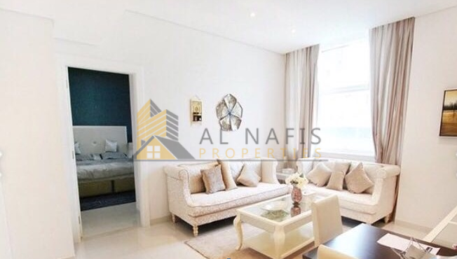  Spacious Fully Furnished   1BHK   Cour Jardin!
