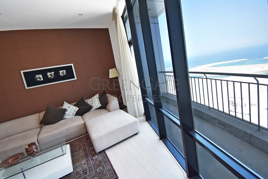 One Bed Apartment with Sea Views From Every Room