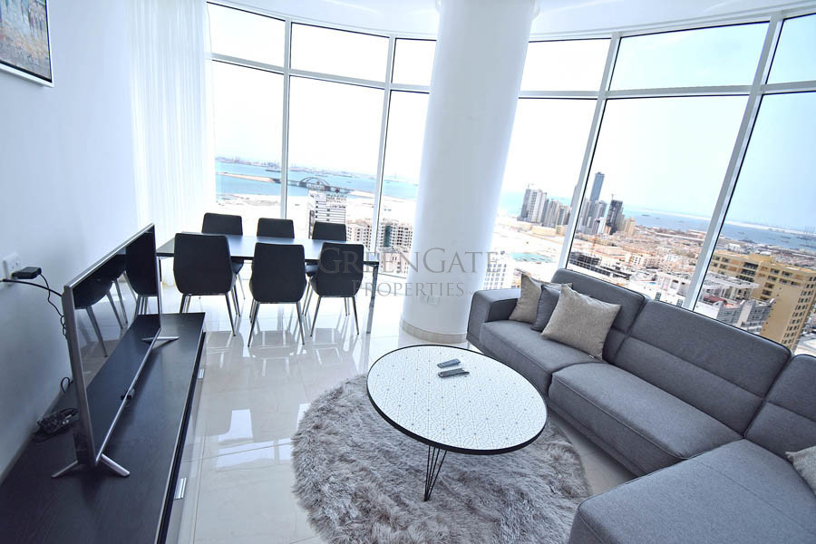 Stunning 2br Furnished Apt with Amazing Sea Views