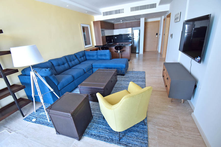 Deluxe One Bed Apartment with Balcony in Dilmunia