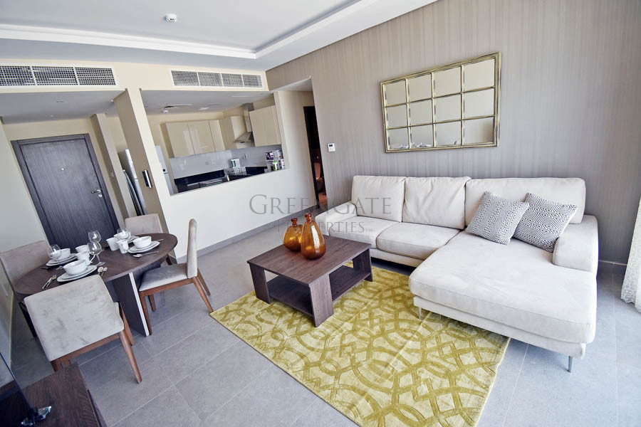 Impeccably Appointed Two Bedroom Apt with Balcony