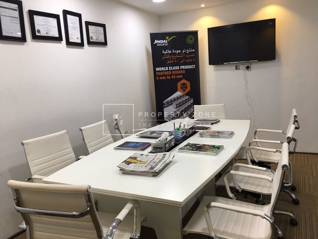 Fully Furnished Fitted Office with Partition