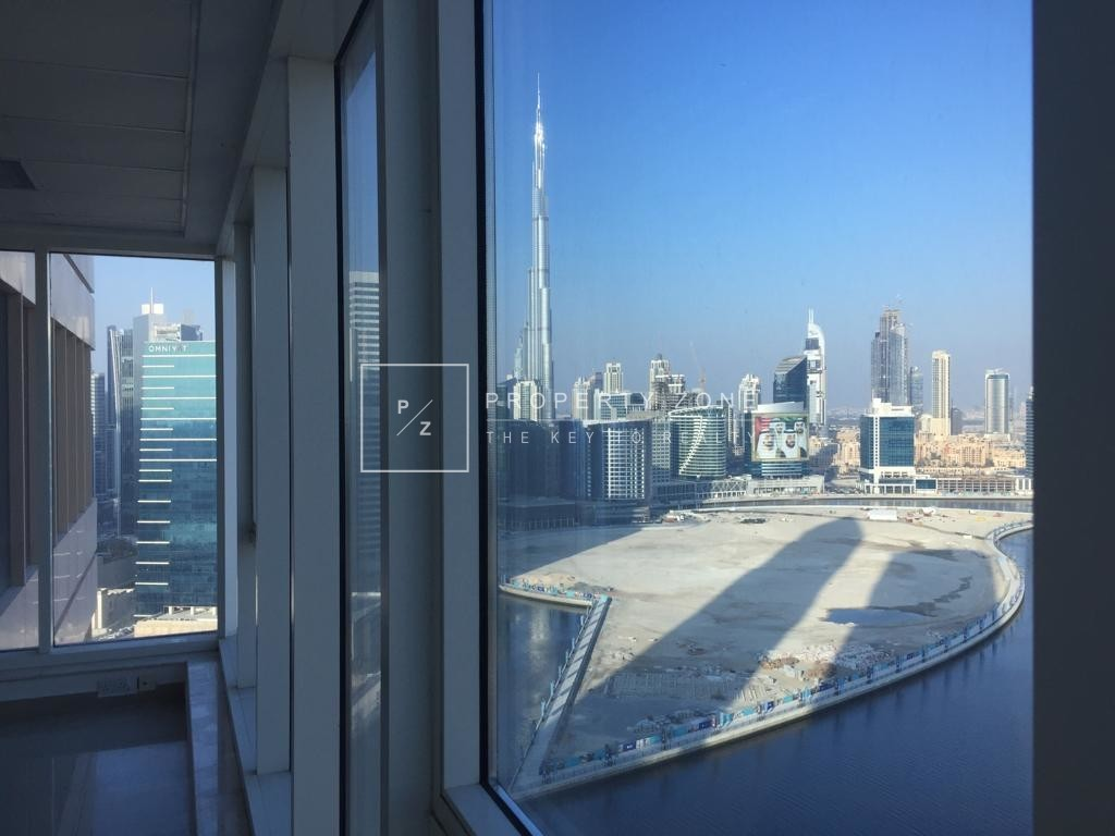 Fitted Office Burj/ Canal view in Churchill