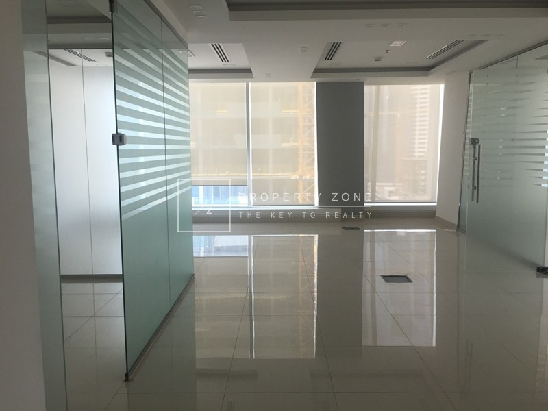 Vacant Office Fitted+Partition Al Manara