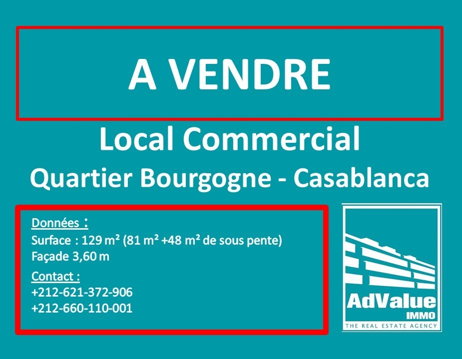 DV.583 : Local commercial à Bourgogne :