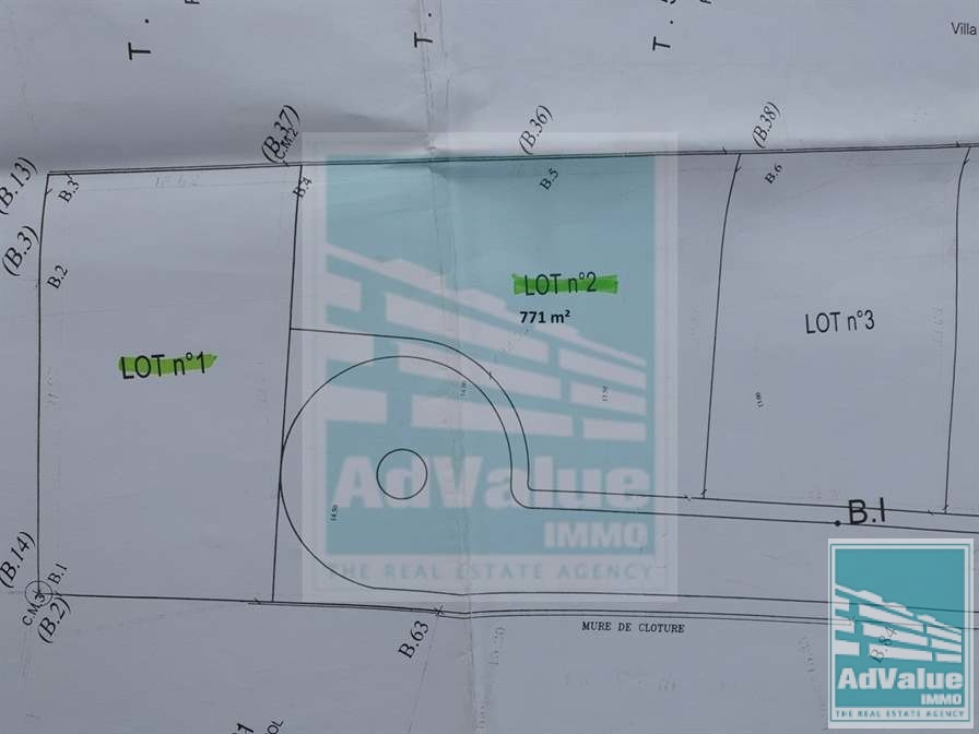 DV.527 Superbe terrain pour villa à Aïn Dïab :