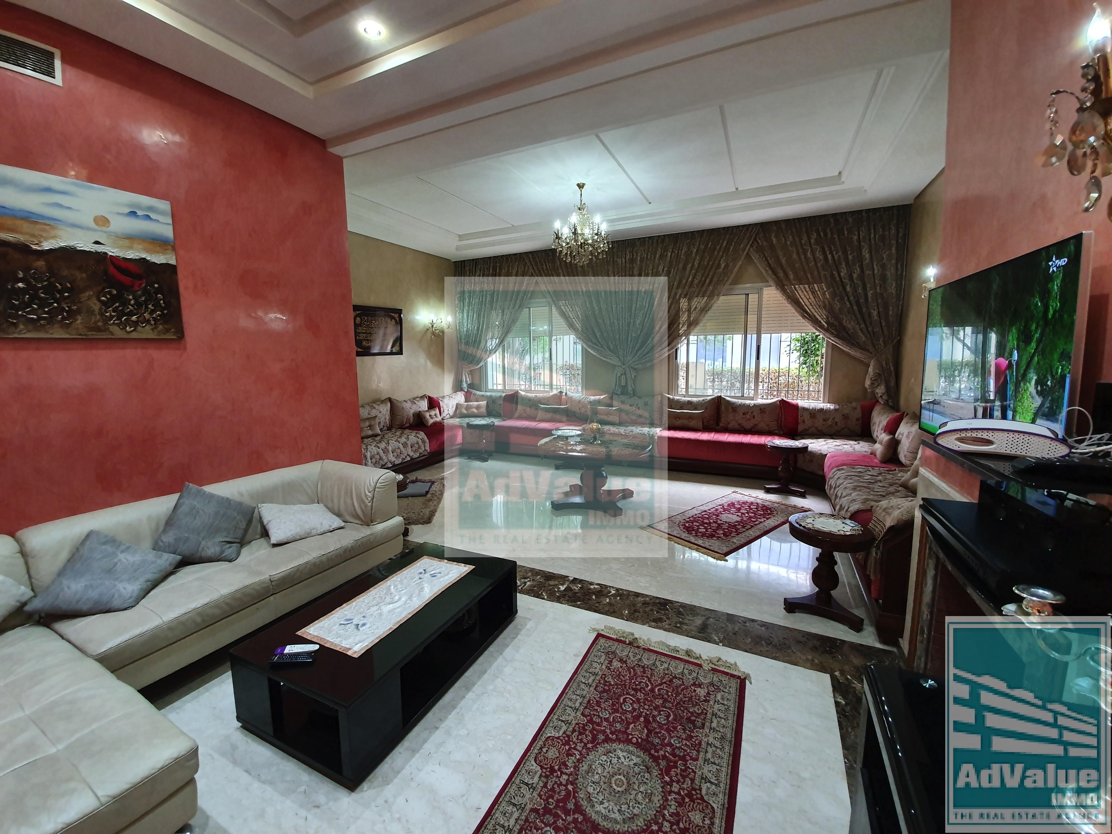 DV.529  Paisible appartement à l'oasis, superbes prestations