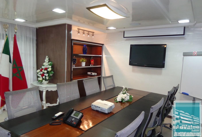 DL.325 : Plateau bureau de 179 m² Bd Zerktouni :