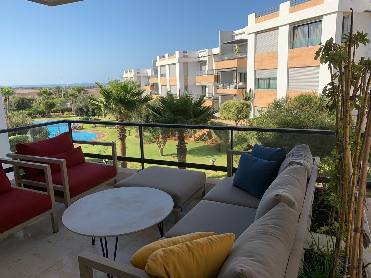 Vente <strong>Appartement</strong> Casablanca Ain Diab <strong>184 m2</strong>