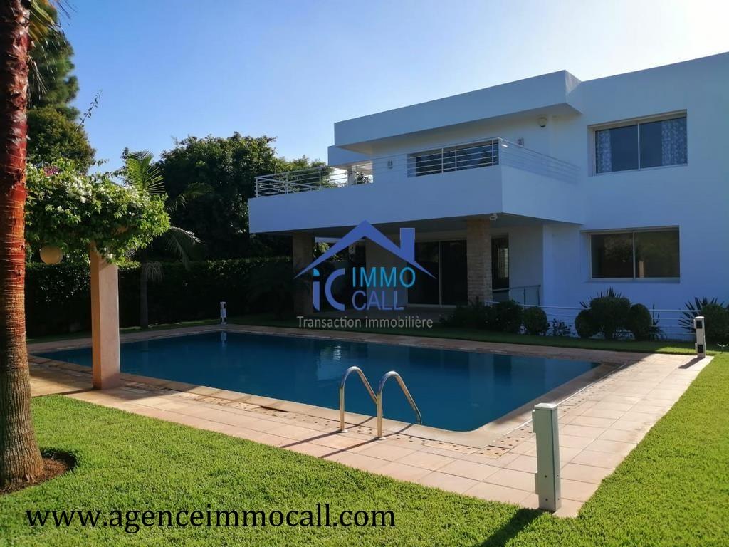 Villa à louer Rabat