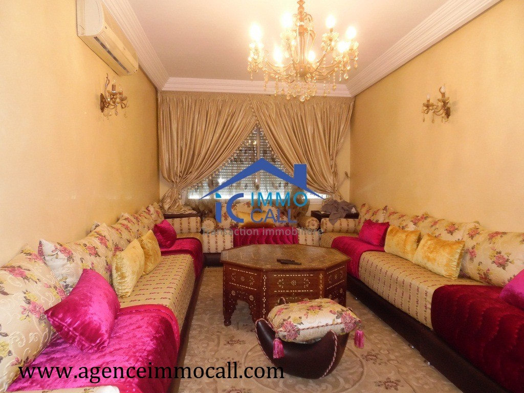 Vente <strong>Appartement</strong> Rabat Agdal <strong>96 m2</strong>