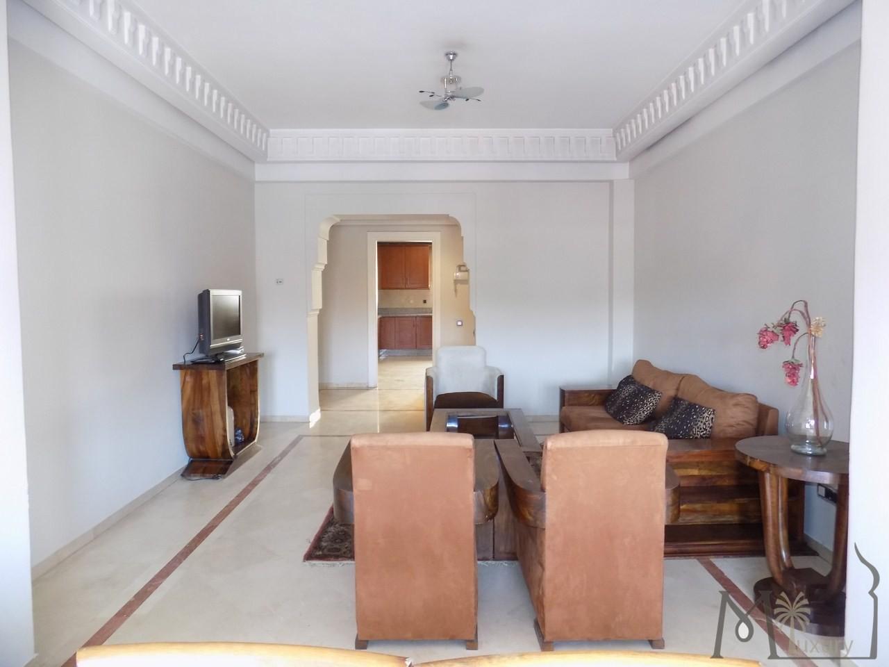 Vente <strong>Appartement</strong> Marrakech Guéliz <strong>120 m2</strong>