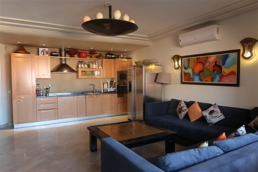 Vente <strong>Appartement</strong> Marrakech Guéliz <strong>124 m2</strong>