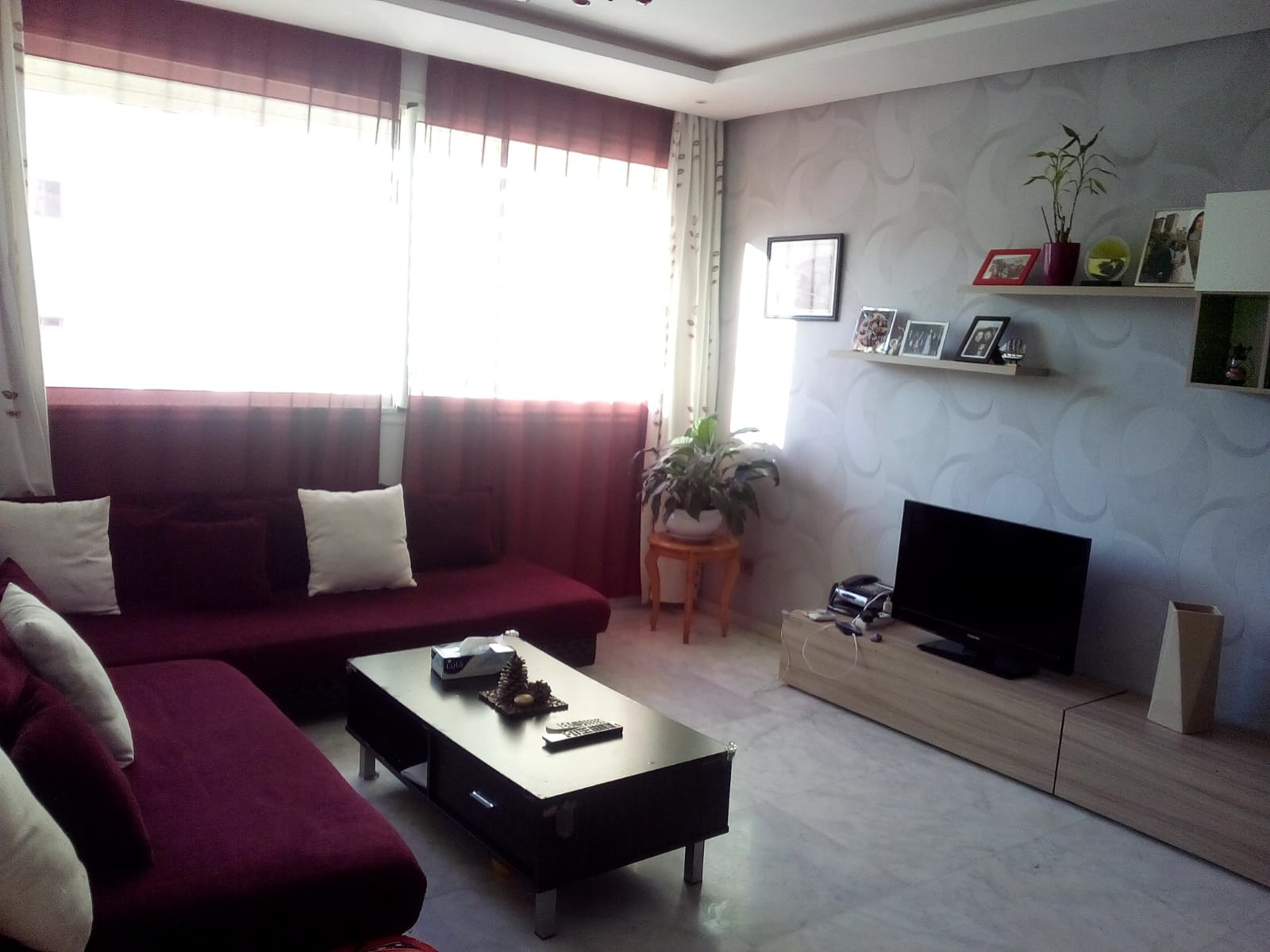 Location <strong>Appartement</strong> Rabat Hay Riad <strong>95 m2</strong>