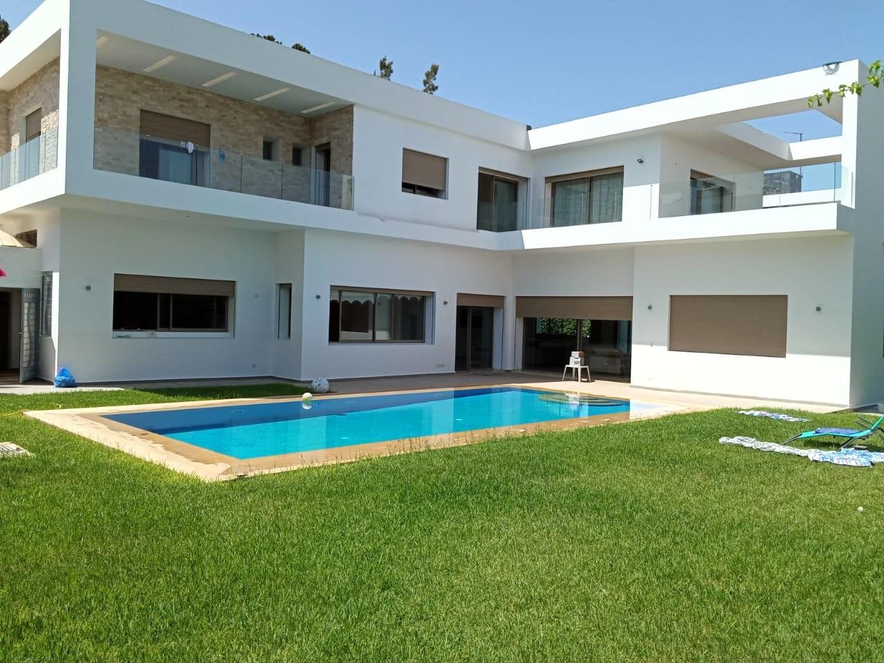 Vente <strong>Villa</strong> Rabat Souissi <strong>1000 m2</strong>