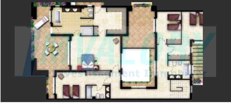 A vendre Villa 685m² Jardin océan I