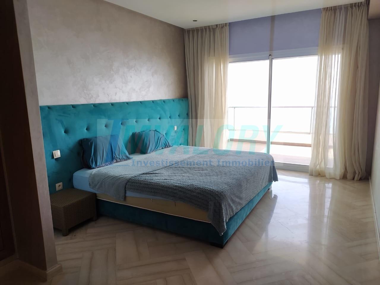 A louer Appartement 3chb Vue mer Darbouazza