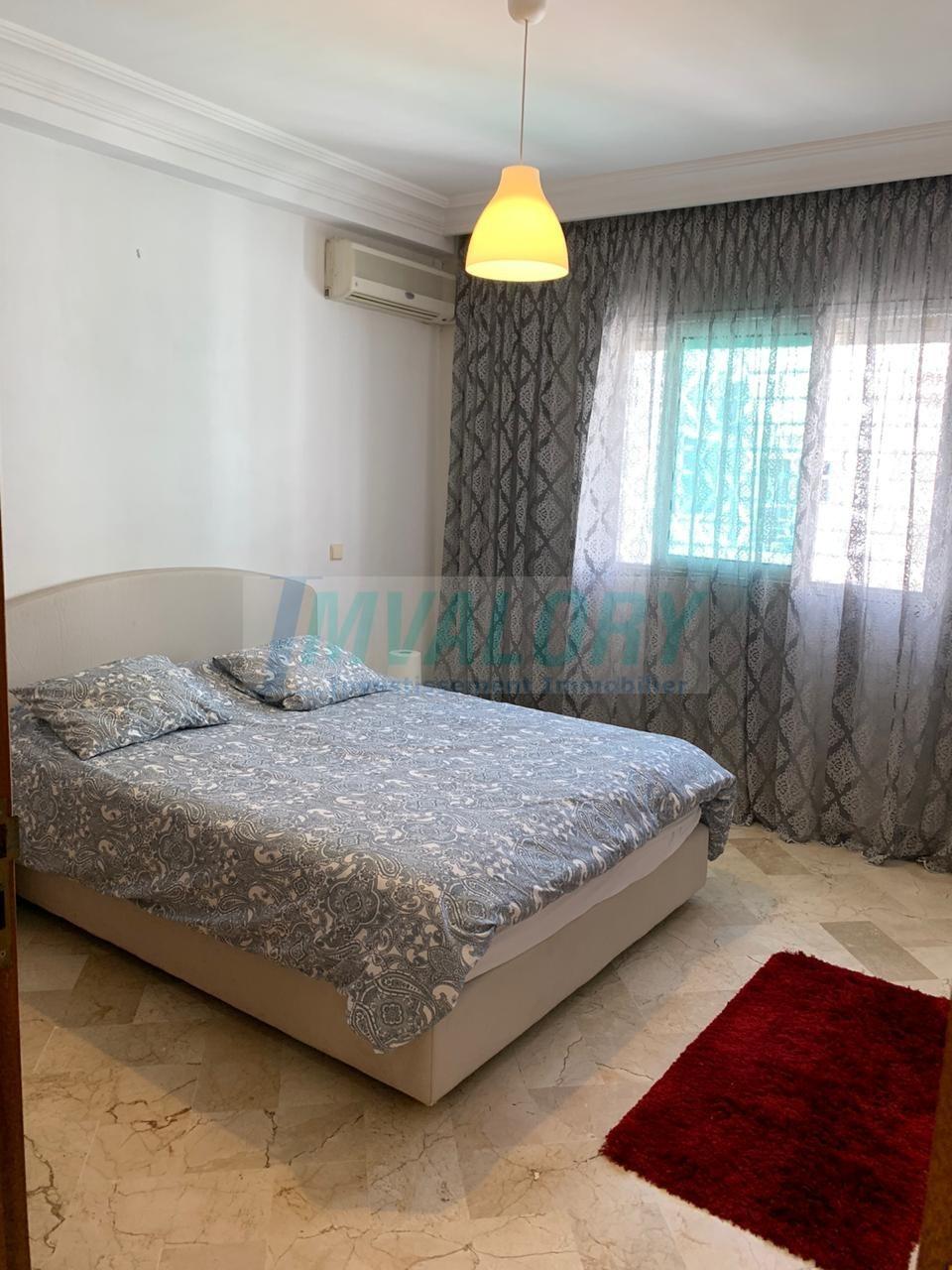 A louer Appartement meublé 2 chb Palmier