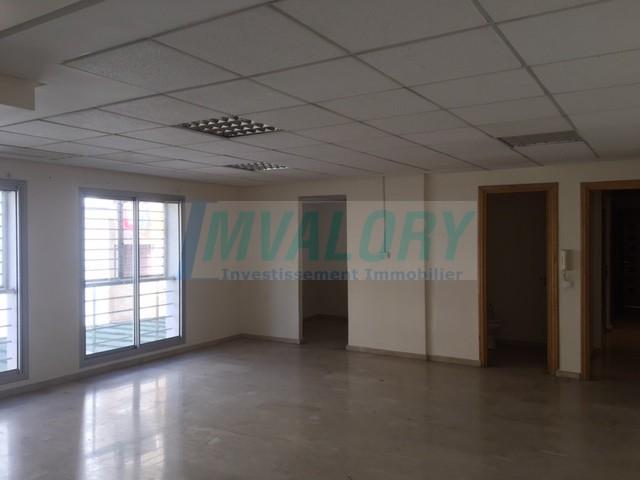 A vendre bureau de 93m2 bd zerktouni