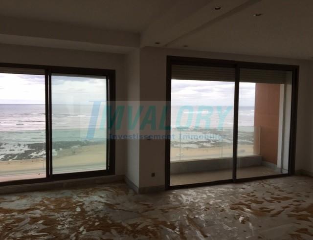 A louer un superbe appartement THS avec une vue imprenable sur la mer sur la corniche de Casablanca