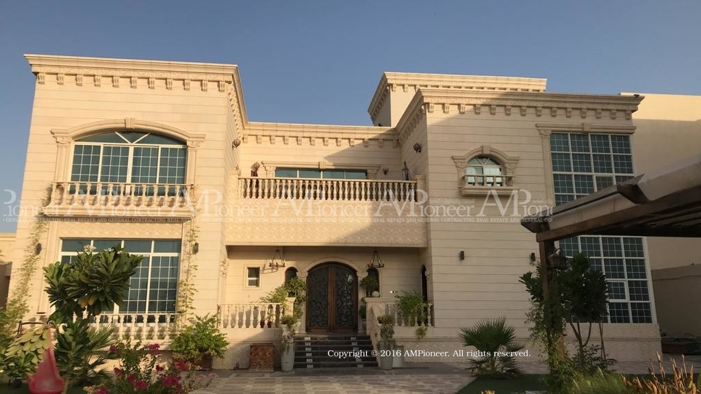 Live and invest! 5 villas in Shakhbout..