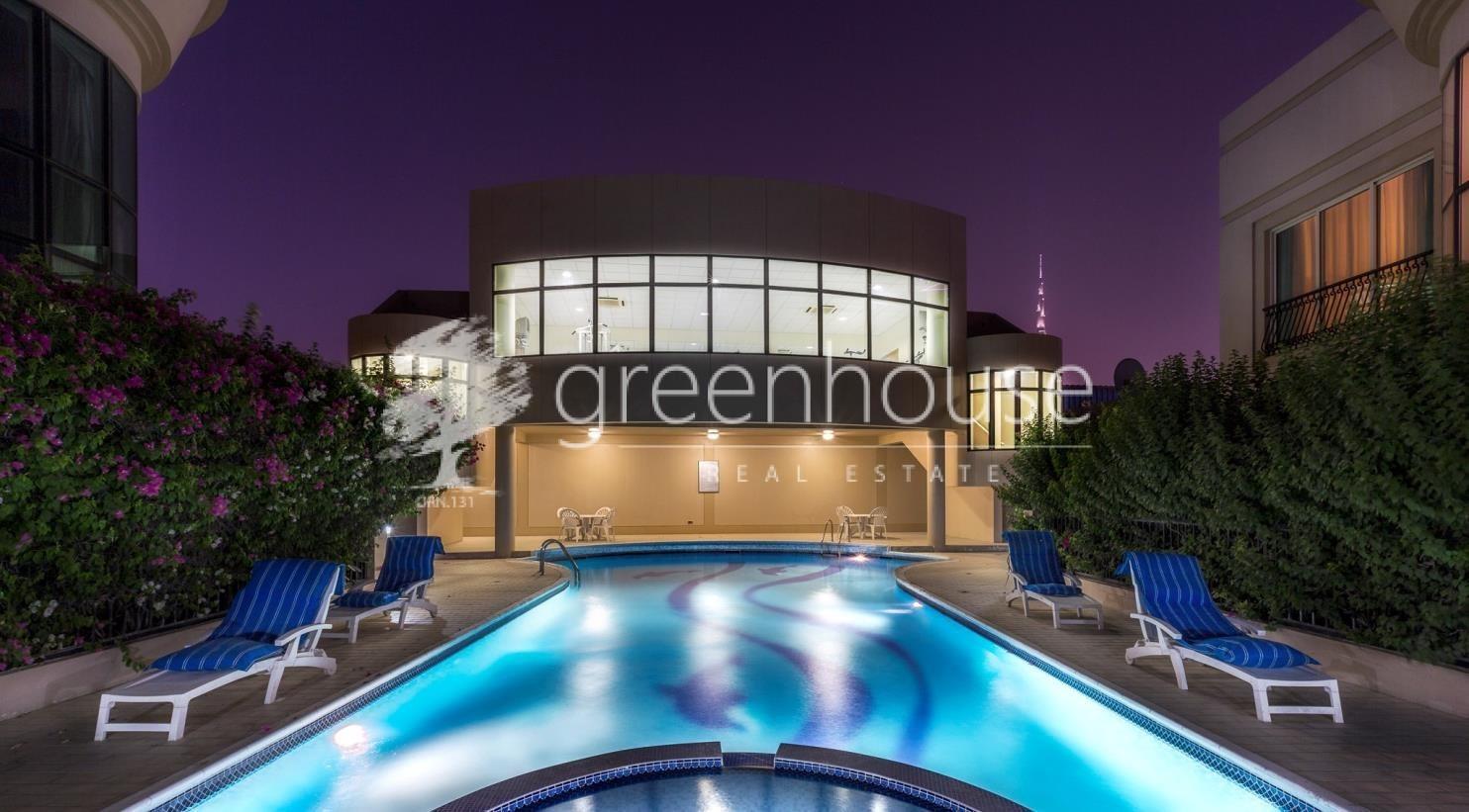 Luxury Villa Compound near Dubai Water Canal