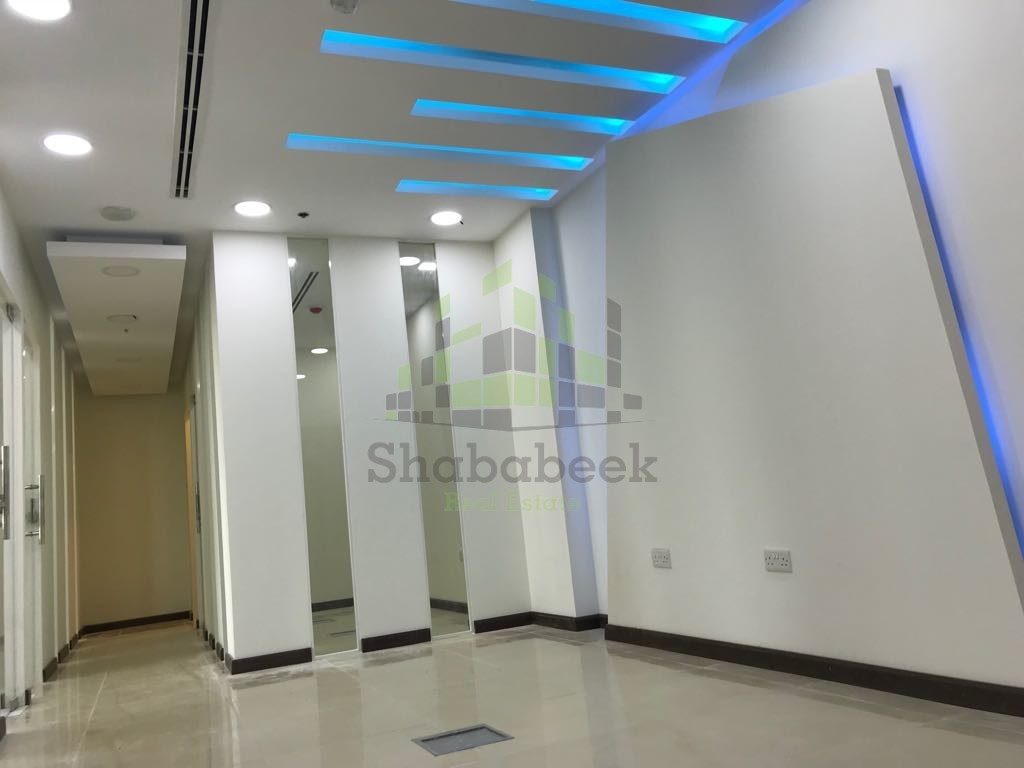 Spacious Semi-Fitted Office Business Bay