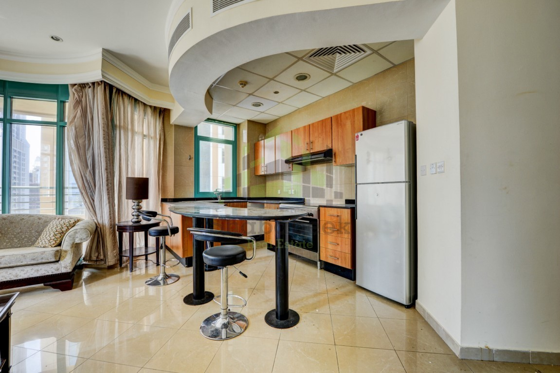 2BHK Furnished Sea View unit ChillerFree
