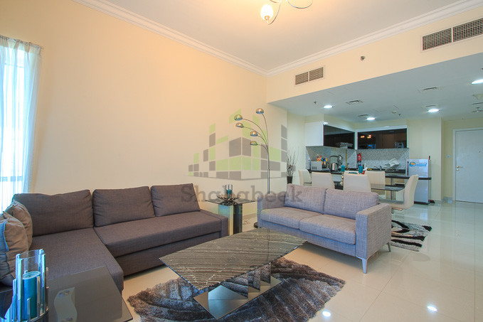 Spacious Fully Furnished 1BHK apartment