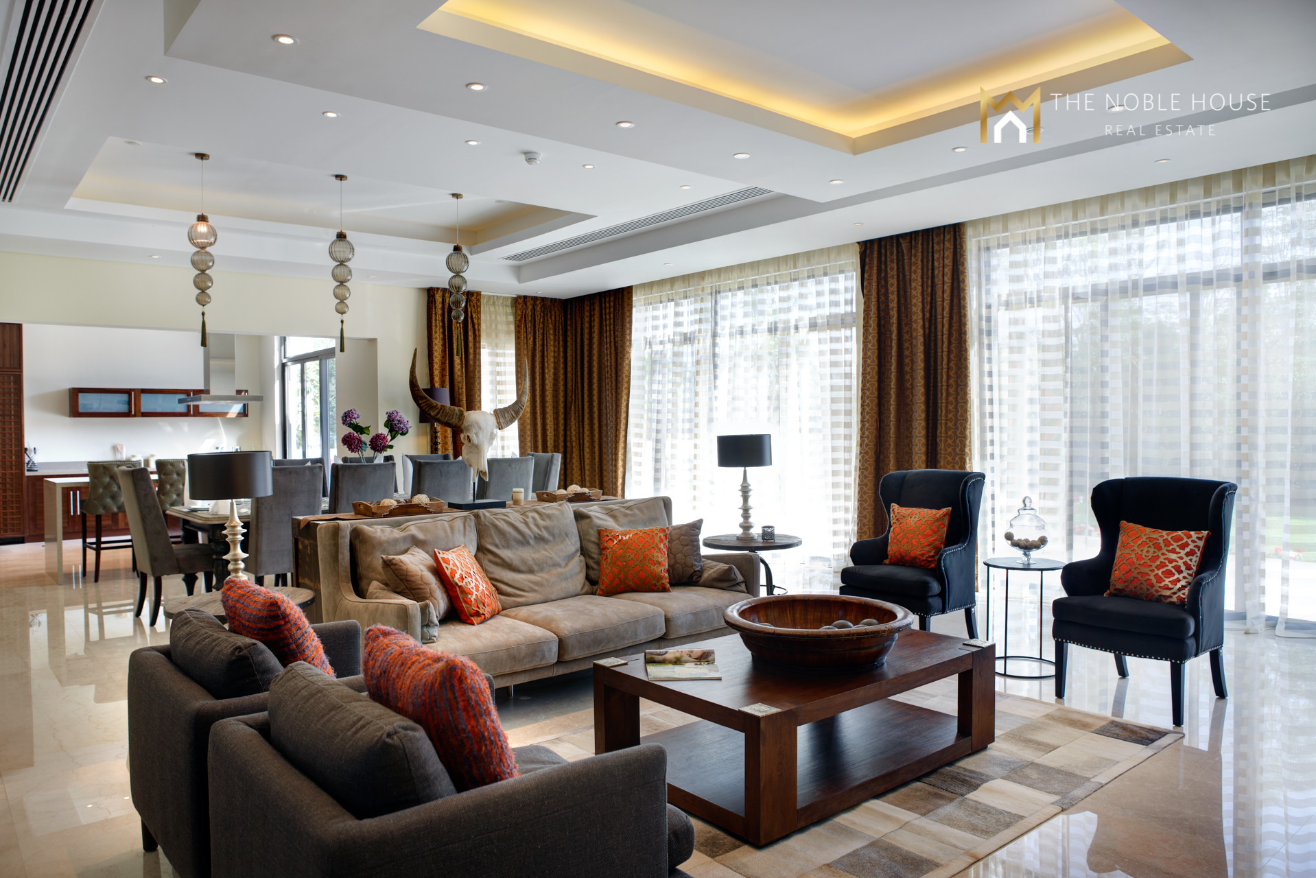 6 Bed Type A Modern Arabic Villa In MBRC