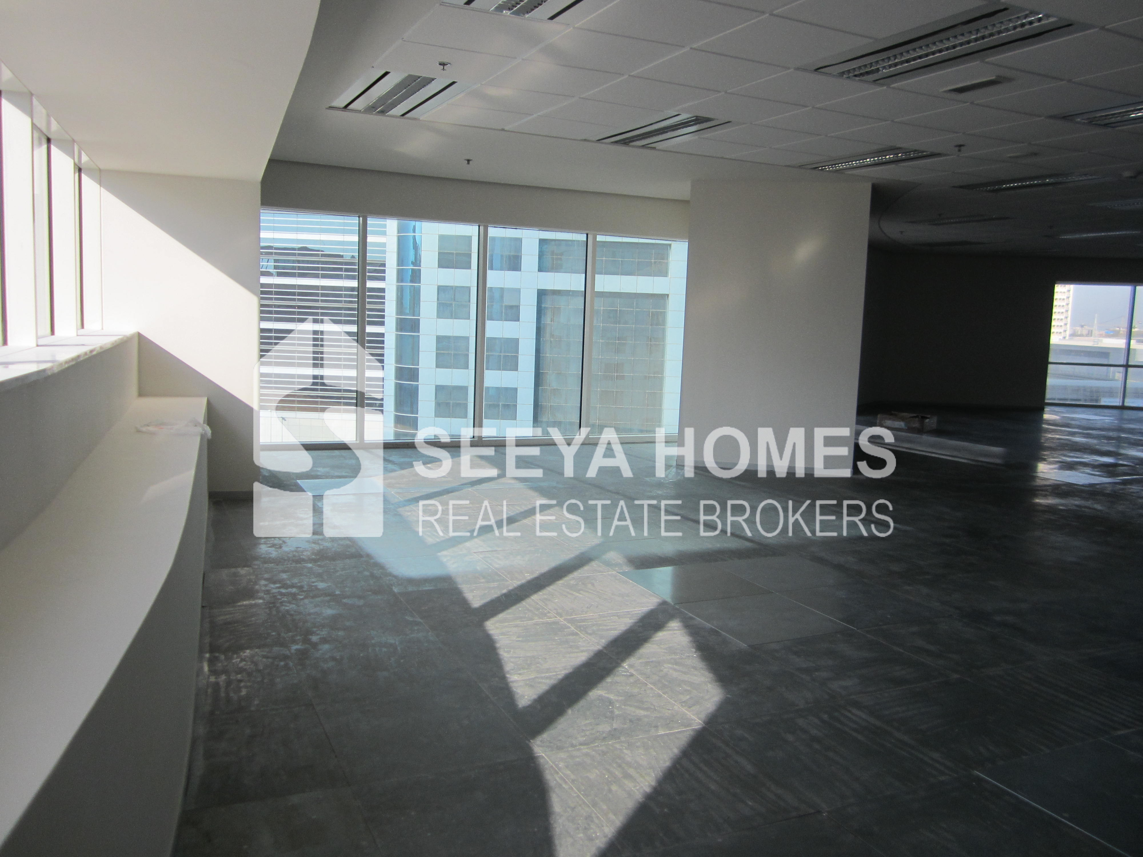 Stunning Shell & Core Office Space for Rent