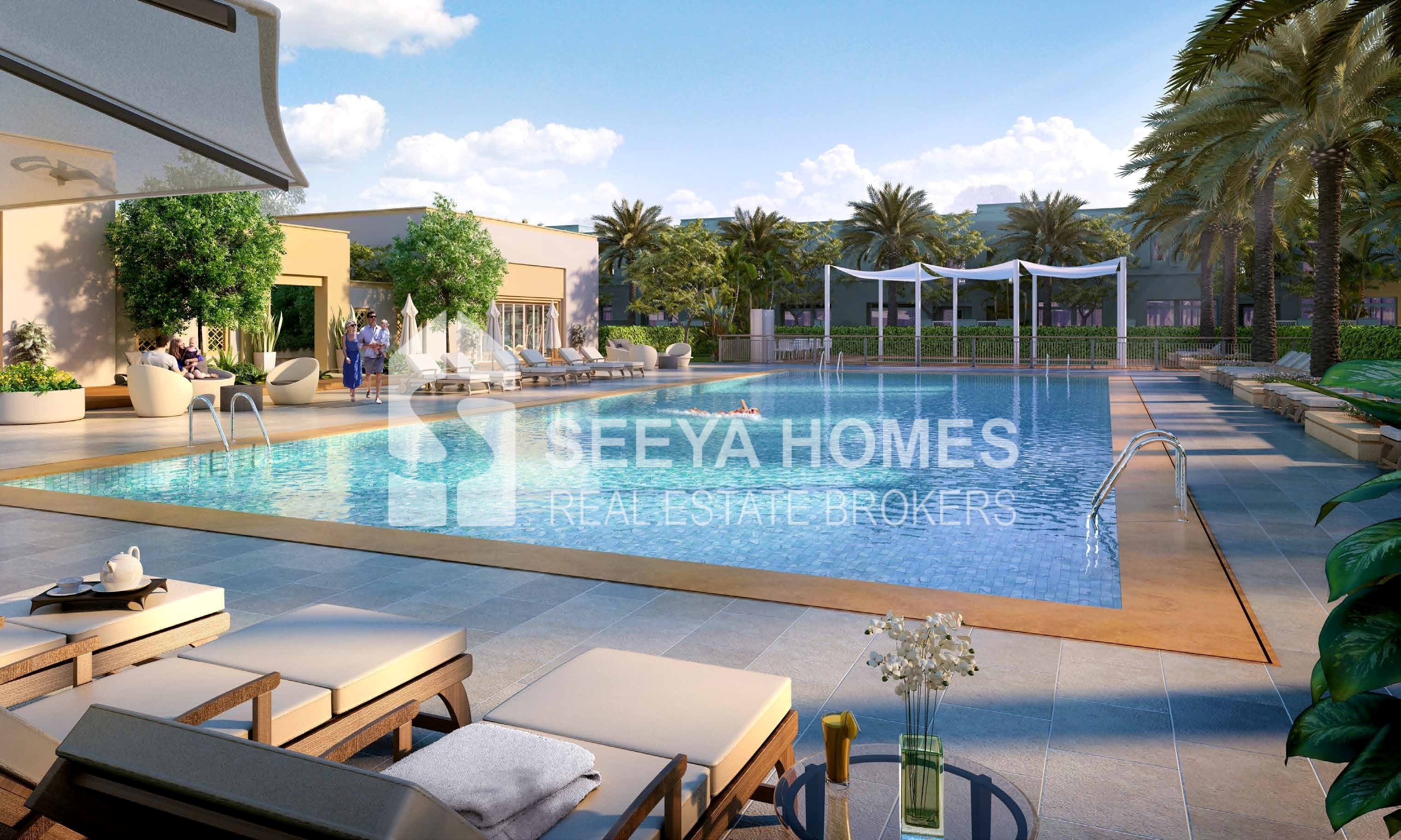 Spacious Living | 3 BR + Maid | Townhouses
